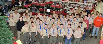 sparta boy scouts adopt a family sparta nj local news