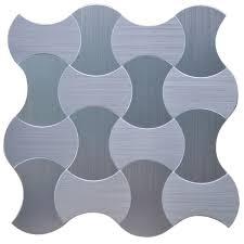 3d wall ekb 03 112 instant mosaic stainless steel peel u0027n u0027stick