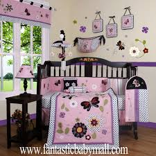 Butterfly Nursery Bedding Set by Organic Nursery Bedding Sets Boutique Daisy Garden 13pcs Crib