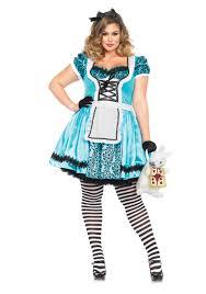 images of plus size alice in wonderland halloween costume plus