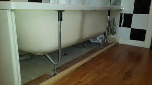 Squeaky Bathroom Floor Bathtub Stop Bath Squeaking Home Improvement Stack Exchange