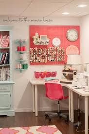 Sewing Room Decor A Basement Craft Room Handmade Uk Sewing Studio Craft
