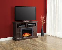 whalen media fireplace up tvs for console to 55