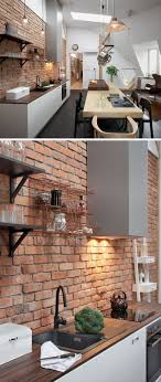 brick kitchen ideas best 25 exposed brick kitchen ideas on brick wall