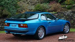 porsche 944 rally car 944 s2 turquoise blue