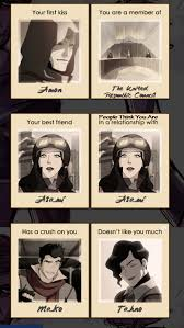 Legend Of Korra Memes - legend of korra relationship meme by airbendersora on deviantart
