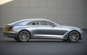 hyundai genesis 2 door coupe hyundai vision g concept previews larger more luxurious genesis coupe