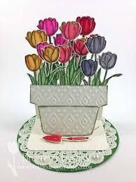 Challenge Flower Pot 66 Best Cards Flower Pot Card Designs Images On
