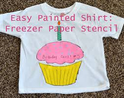 halloween shirts for kids how to easy painted shirt with a freezer paper stencil u2014 bless