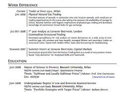 resumes that work resume templates