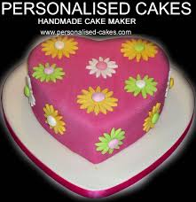 Heart Shaped Cake With Flowers Ideas For Girls Birthdays