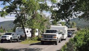 yellowstone campground experience is adventure in communal living