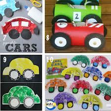 car crafts for preschoolers kidz activities