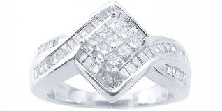 diamond shaped rings images Rhombus shaped diamond ring wedding promise diamond jpg