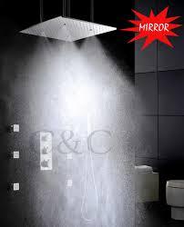 aliexpress com buy atomizing and rainfall bathroom shower set 20
