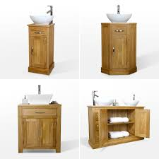 Oak Washstand Home Furniture  DIY EBay - Solid wood bathroom vanity uk