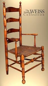William And Mary Chair William And Mary Ladder Back Chair With Arms C 1780