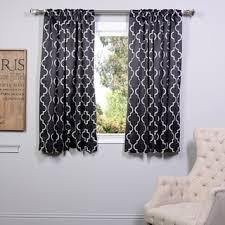 Seville Curtains Exclusive Fabrics Seville Print Blackout Curtain Panel Pair Free