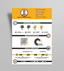Resume Infographic Template Free Infographic Resume Design Template Ai File Resume
