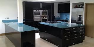 plan de travail cuisine verre meuble de cuisine en verre awesome design de maison