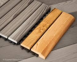 cedar flooring snap together edge superior saunas