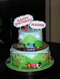 Cake Walk Thomas The Tank Engine Birthday Cake Ashton Jenkins