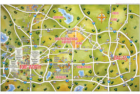 Washington Dc City Map by Dallas And Fort Worth Tourist Map