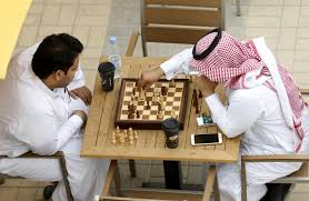 saudi arabia is hosting a chess tournament and top players are
