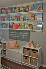 Nurseries And Kids Rooms Using Ikea Spice Racks As Bookshelves By