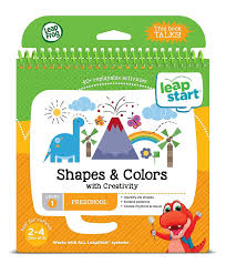 leapfrog leapstart nursery activity book shapes colours and