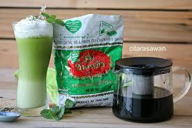 Teh Hijau Serbuk teh hijau thai latte thai green tea latte resepi terbaik