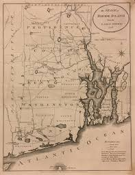 Map Of Ri Antique Maps Of Rhode Island