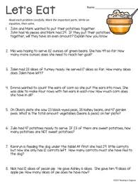 thanksgiving word problems 2nd grade by reading in disguise tpt