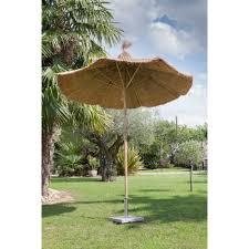 abri jardin bambou parasol bambou ø250 h230 cm plantes et jardins