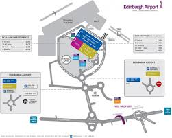 Las Vegas Airport Terminal Map by Edinburgh Airport Parking Map Map Of Edinburgh Airport Car Parks