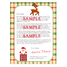personalized letter from santa free personalized letters from santa program enchanted