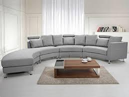 salon canape le canapé d angle arrondi comment choisir la meilleure variante