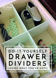 how to organize kitchen drawers diy diy drawer dividers using what you ve got the homes i