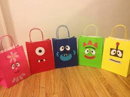 Yo Gabba Gabba Party Ideas by Yo Gabba Gabba Inspired Handmade Bags 20 00 Via Etsy Yo