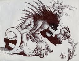 Scary Monsters Halloween Jaraden U0027s Drawings