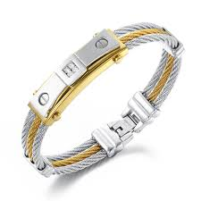 stainless steel mens bracelet images 316l stainless steel men 39 s bracelets factory ip gold quality jpg