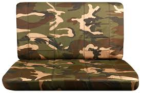 Camo Duvet Cover Camouflage Bench Seat Covers For Car Truck Van Suv 60 40 40 20 40