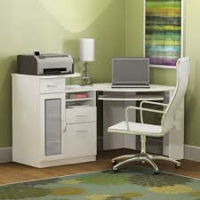 furniture computer desk plus white wheeled swivel chair furniture