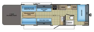 Arctic Fox Rv Floor Plans by Interesting Toy Hauler Floor Plans Forest River Xlr Lite Travel