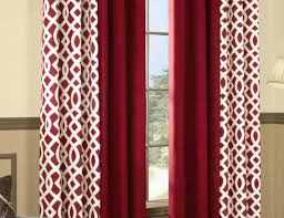 curtains red and tan curtains exaltation 96 curtains