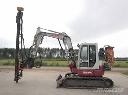 volvo rigs for sale used takeuchi tb80fr ja exca drill surface drill rigs year 2005