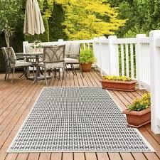 Easy To Clean Outdoor Rug Modern Ecru Geometric Skandi Area Rugs Durable Easy Clean Indoor