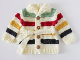 bay bay baby crochet hudson s bay baby sweater farm crafts