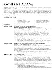 sample resume for consultant professional technical instructor templates to showcase your resume templates technical instructor