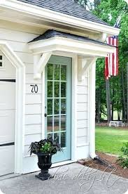 Awning Design Ideas Back Door Awning Ideas Image Of Photos Of The Copper Awnings